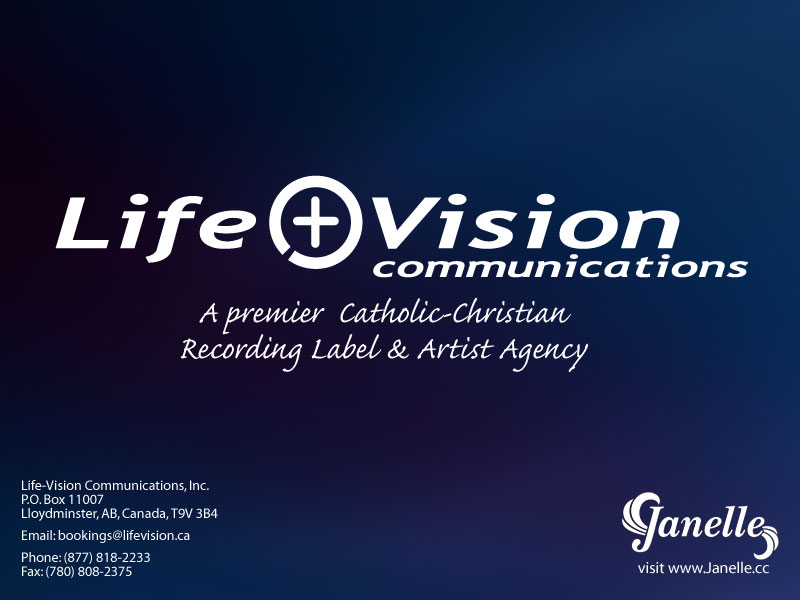 Life-Vision Communications, Inc. / P.O. Box 11007 / Lloydminster, AB, Canada, T9V 3B4 / Email: bookings@lifevision.ca / Phone: (877) 818-2233 / Fax: (780) 808-2375